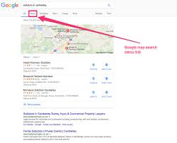 Google Maps Directions Link Local Pack Local Teaser Local Finder Localised Organic