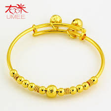 childrens gold bracelets right meter gold plated bells baby transporter bangle