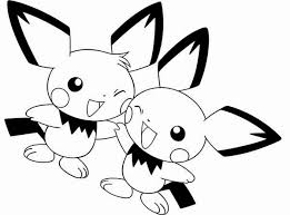 pichu friend coloring color luna