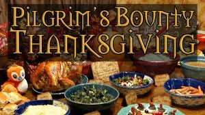 what does thanksgiving mean pilgrim u0027s bounty irl world of warcraft cookbook feast youtube