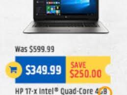 tigerdirect black friday ad features handful of laptop desktop