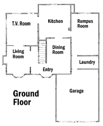 house site plan simpsons house floor plan