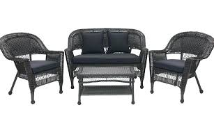 Desig For Black Wicker Patio Furniture Ideas Black Wicker Outdoor Furniture Or Skillful Design Black