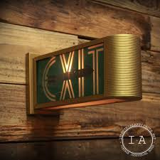 decor fresh decorative exit signs home decoration ideas
