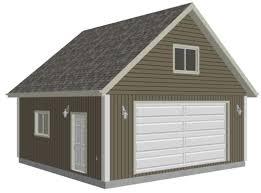 Garage Loft Plans 12 Best 24x24 Garage Plan Images On Pinterest Garage Ideas