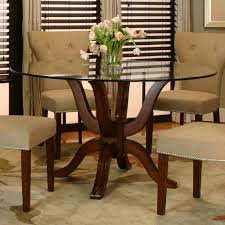 Dining Room Tables Set Round Tempered Glass Top Dining Table Set For Small Spaces Alfa