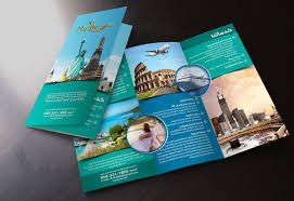 travel and tourism brochure templates free tourism brochure templates 43 travel brochure templates free