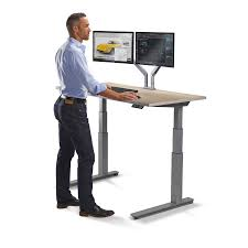 Sit Stand Office Desk by 60