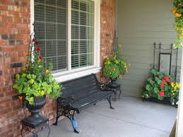 Summer Porch Decor by Front Porch Planters Landscaping U0026 Garage Ideas Pinterest