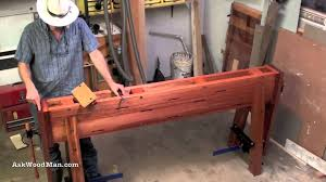 1 of 34 how to build a roubo work bench askwoodman style youtube