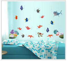 aliexpress com buy new fish seabed nemo wall sticker cartoon aliexpress com buy new fish seabed nemo wall sticker cartoon wall sticker decor removable vinyl nursery kids room decals from reliable kids room decalls
