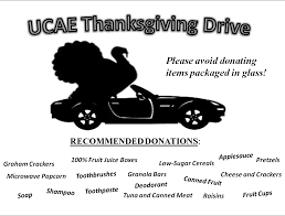 thanksgiving food drive items 2013 november niner times