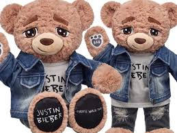 build your own teddy justin bieber has his own teddy read iheartradio