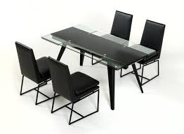 Glass Top Dining Table And Chairs The Pros And Cons Of Glass Top Modern Dining Tables La Furniture