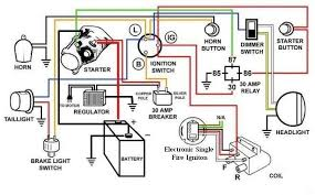 terrific simple chopper wiring diagram images schematic symbol on