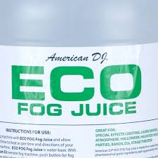 american dj eco fog smoke haze fog machine fluid juice 1 gallon