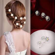 hair accessories for hair 12 pcs delicate hair pins headwear shiny hair pins headwear
