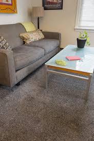 Laminate Flooring Portland Portland Condo Living Den Wall To Wall Carpet Plush Browns