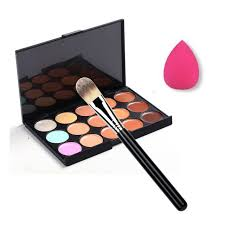 Makeup Set sale 3 in 1 makeup set 15 color concealer palette makeup brush