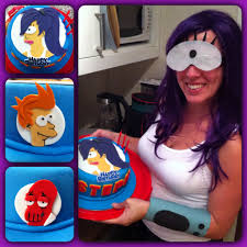 Happy Birthday Halloween Pictures Futurama Themed Birthday Cake I Made Especially For Stephanie U0027s