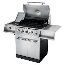 Brinkmann Portable Gas Grill by Traditional 5 Burner Gas Grill Char Broil
