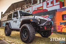 orange jeep wrangler with black rims storm 19 2017 jeep wrangler rubicon recon 2 door 3 6l v6