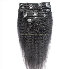 Yaki Clip In Human Hair Extensions by 6a Clip In Human Hair Extensions Straight 120g 100