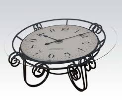 unique clock coffee table unique clock coffee table ideas round clock coffee
