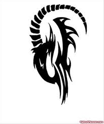 collection of 25 nice tribal aries tattoo design