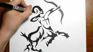 family how to draw a tribal centaur sagittarius tattoos