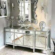 mirror tables for living room mirrored furniture living room classic mirror regency cabinet with