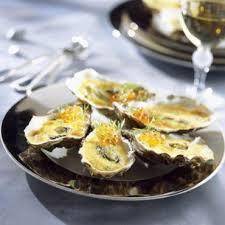 comment cuisiner des huitres huîtres gratinées au chagne cuisine plurielles fr