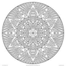 complex mandala coloring pages complicated coloring pages kids