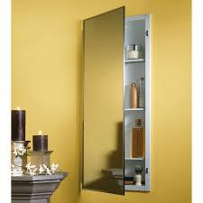 Mirrored Corner Bathroom Cabinet Modern Corner Bathroom Medicine Cabinet With Aluminum Single Door
