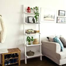 bookcase best ladder shelf white target bookcase 5 shelf