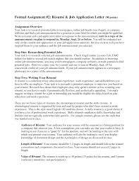 Sample Of Resume For Job Application Sample Job Application Letter With Resume Resume For Your Job