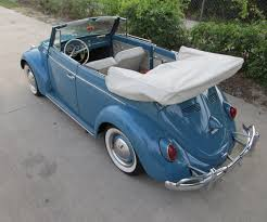 blue volkswagen convertible 1963 volkswagen beetle convertible sold vantage sports cars