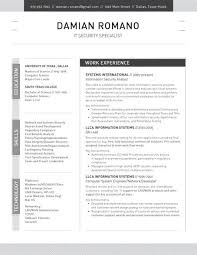 Remote Support Engineer Resume Resume Template Structured Black Loft Resumes