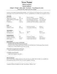 Cosmetologist Resume Template Dance Resume Example Resume Example And Free Resume Maker