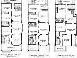 row house floor plan remarkable narrow row house plans images best ideas exterior