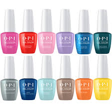 colors spring 2017 opi gelcolor spring 2017 fiji collection set of 12 universal