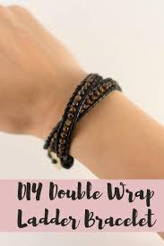 wrap wrist bracelet images Diy double wrap leather beaded bracelet likely by sea jpg