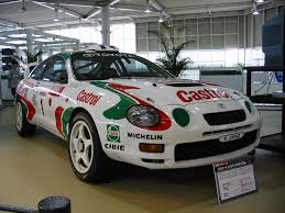toyota rally car file toyota celica gt four 02 jpg wikimedia commons