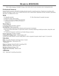 counselor resume in ct sales counselor lewesmr