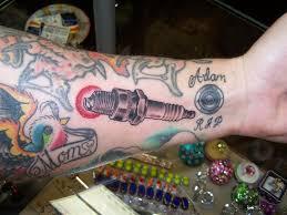 54 fantastic spark plug tattoos