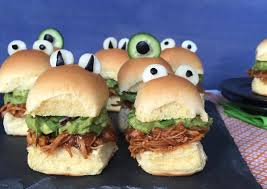 Monster Halloween by Monster Tex Mex Chicken Sliders I Heart Nap Time