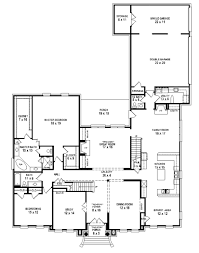five bedroom home plans one story 5 bedroom home plans alovejourney me