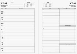blank calendar 4 months per page