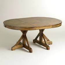 Extendable Oval Dining Table Round Extending Pedestal Dining Table U2013 Rhawker Design