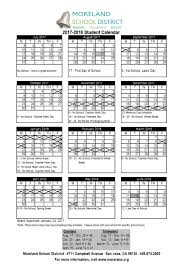 school district calendar 2017 2018 school events are on the